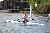 Race: 8  Event: Aspirational Lightweight 1x<br /> Crew: 150  Club: Edinburgh Univ<br /> <br /> Henley Women's Regatta 2018<br /> Friday<br /> <br /> To purchase this photo, or to see pricing information for Prints and Downloads, click the blue 'Add to Cart' button at the top-right of the page.