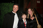 James DePaiva stars in Under Fire, the musical - a part of the New York Musical Theatre Festival on October 4, 2009 at The Theatre of St. Clements, New York City, New York. Wife Kassie and son JQ attend the performance. (Photo by Sue Coflin/Max Photos)