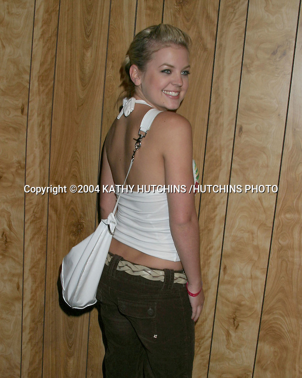 ©2004 KATHY HUTCHINS /HUTCHINS PHOTO.T-MOBILE SIDEKICK II LAUNCH PARTY.AND XGAMES PARTY.LOS ANGELES, CA.AUG 4, 2004..KRISTEN STORMS.