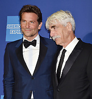 PALM SPRINGS, CA - JANUARY 03: Bradley Cooper (L) and Sam Elliott attend the 30th Annual Palm Springs International Film Festival Film Awards Gala at Palm Springs Convention Center on January 3, 2019 in Palm Springs, California.<br /> CAP/ROT/TM<br /> ©TM/ROT/Capital Pictures
