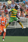 14 May 2010: Tampa Bay's Pascal Milien (HAI). The FC Tampa Bay Rowdies defeated the Carolina RailHawks 2-1 at WakeMed Stadium in Cary, North Carolina in a regular season U.S. Soccer Division-2 soccer game.
