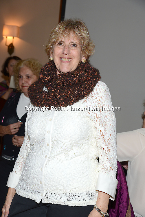 luncheon guest attends the Big Apple Knitters Guild Luncheon on September 20, 2014 at Maloney &amp; Porcelli in New York City.<br /> <br /> photo by Robin Platzer/Twin Images<br />  <br /> phone number 212-935-0770