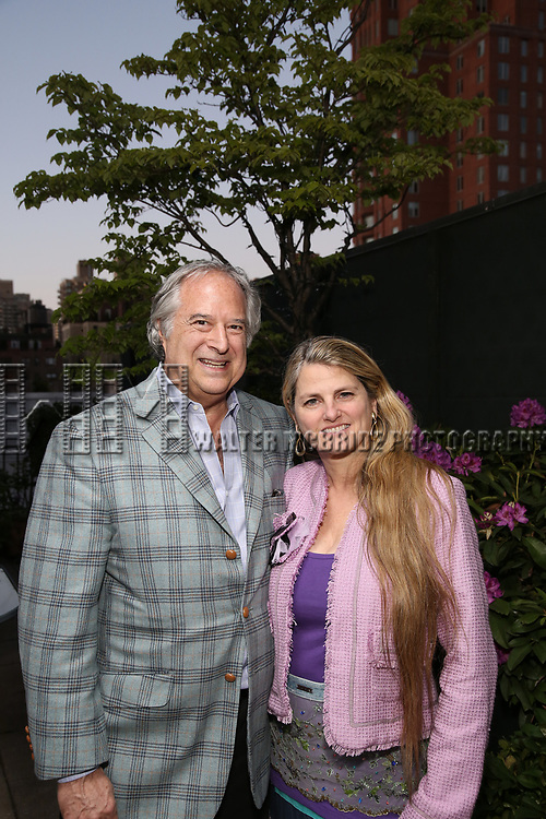 Stewart F. Lane and Bonnie Comley attend The Drama League: Meet The Directing Fellows <br />Hosted By Stewart F. Lane &amp; Bonnie Comley at a private residence on May 15, 2017 in New York City.