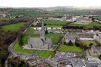 An aerial photo of Killarney and St. Mary's Cathedral 2006.<br /> Photo Don MacMonagle