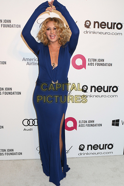 WEST HOLLYWOOD, CA - MARCH 2: Paulina Rubio attending the 22nd Annual Elton John AIDS Foundation Academy Awards Viewing/After Party in West Hollywood, California on March 2nd, 2014.  <br /> CAP/MPI/mpi99<br /> &copy;mpi99/MediaPunch/Capital Pictures