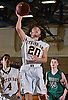Devon Marmorale #20 of Oyster Bay drives to the net during the Nassau County varsity boys basketball Class B final against Carle Place at SUNY Old Westbury on Thursday, Feb. 23, 2017. Oyster Bay won by a score of 51-31.
