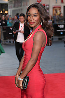"Amma Asante<br /> at the London Film Festival premiere for ""A United Kingdom"" at the Odeon Leicester Square, London.<br /> <br /> <br /> ©Ash Knotek  D3160  05/10/2016"