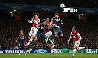 Arsenal v Bayern Munich 19-Feb-2014