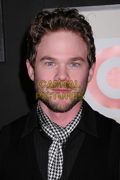 SHAWN ASHMORE .Target & Converse One Star Movie Awards After Party at The Lot,Hollywood, California, USA..June 1st, 2008.headshot portrait beard facial hair dog-tooth pattern print scarf black white .CAP/ADM/BP.©Byron Purvis/AdMedia/Capital Pictures.