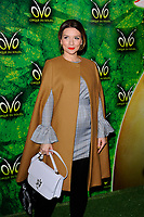 LONDON, ENGLAND - JANUARY 10: Candice Brown attending 'Cirque du Soleil - OVO' at the Royal Albert Hall on January 10, 2018 in London, England.<br /> CAP/MAR<br /> &copy;MAR/Capital Pictures