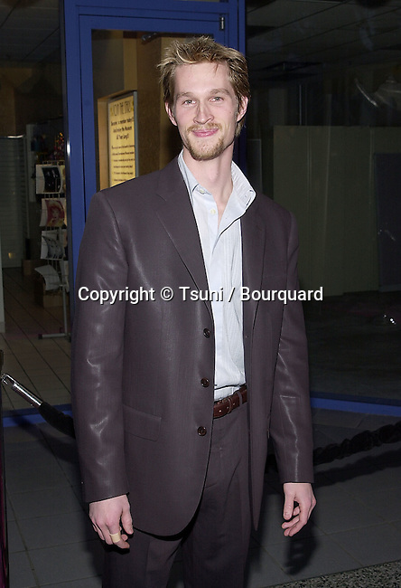 "Martin Alexander arriving at the premiere of "" Josie and the PussyCats"" at the Galaxie Theatre in Los Angeles  4/9/2001  © Tsuni          -            MartinAlexander01.jpg"