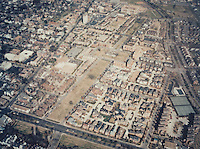 1991 February .Redevelopment.E Ghent South (A-1-1)..Aerial view looking North.Ghent Square...NEG#.NRHA#.GH 1:2:4.
