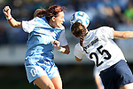 02 December 2012: UNC's Alyssa Rich (00) and Penn State's Mallory Peterson (25). The University of North Carolina Tar Heels played the Penn State University Nittany Lions at Torero Stadium in San Diego, California in the 2012 NCAA Division I Women's Soccer College Cup championship game. UNC won the game 4-1.