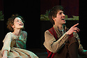London, UK. 05.12.2012. CINDERELLA THE MIDNIGHT PRINCESS opens at the Rose Theatre, Kingston. Picture shows: Faye Castelow (Cinderella), Jack Monaghan (Prince Sebastian). Photo credit: Jane Hobson.