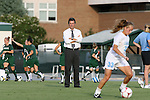 22 August 2008: UNC head coach Anson Dorrance. The University of North Carolina Tar Heels defeated the UNC Charlotte 49'ers 5-1 at Fetzer Field in Chapel Hill, North Carolina in an NCAA Division I Women's college soccer game.