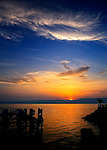Sunrise over the Sea of Galilee in Tiberius, Israel