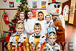 Presentation primary School play on Wednesday 13th December. Front Row: Edonis Neziri, Philip Atallah, Thomas Walsh. Back Row: L-R McKenzie Mongans, Lexi Mulvihill, Prisca Bagaglini, Summer Birch, Adalia Ajish
