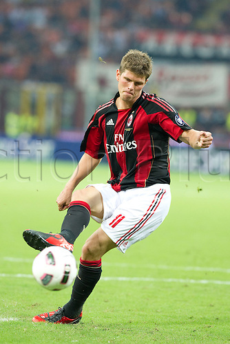 Klass-Jan Huntelaar (Milan) , AUGUST 22, 2010 - Football : Serie A 2010-2011, Luigi Berlusconi Trophy between A.C. Milan (4-5) Juventus at Meazza Stadium, Milan, Italy,