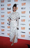 """TORONTO, ONTARIO - SEPTEMBER 10: Gugu Mbatha-Raw attends the """"Motherless Brooklyn"""" premiere during the 2019 Toronto International Film Festival at Princess of Wales Theatre on September 10, 2019 in Toronto, Canada. Photo: PICJER/imageSPACE/MediaPunch"""