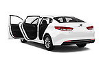 Car images close up view of 2016 KIA Optima LX Turbo 4 Door Sedan doors