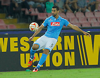 Miguel Britos   during the Europa League   soccer match between SSC Napoli and Sparta Praha  at  the San Paolo   stadium in Naples  Italy , september 18 , 2014