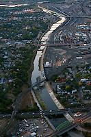 Arkansas River through downtown Pueblo