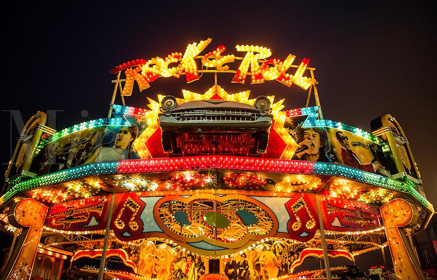 Rock n Roll amusement ride, Atlantic City, New Jersey, USA