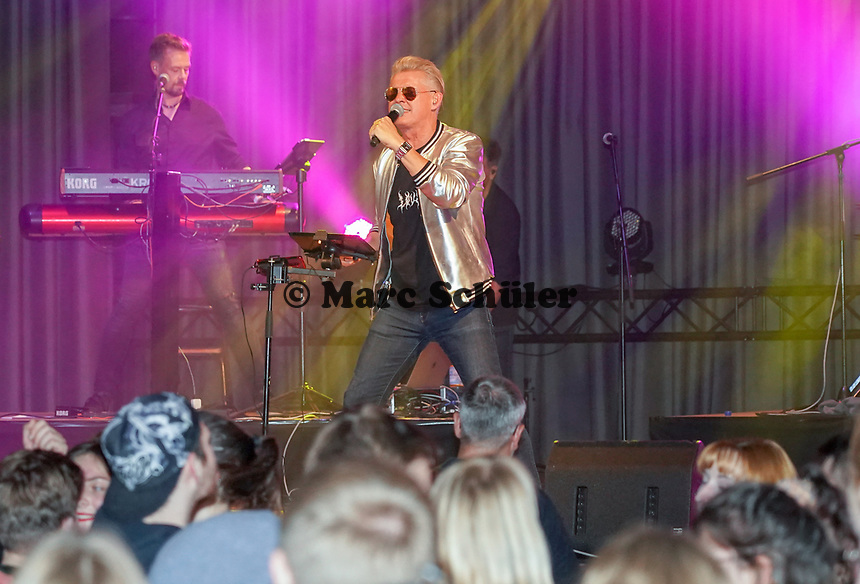 NDW-Star Markus tritt zur Kerberöffnung mit Orange Box Keyboarder Jürgen Köhler und Schlagzeuger Herb Jösch (The Heavytones) auf - 18.10.2019: Kerberöffnung in Mörfelden