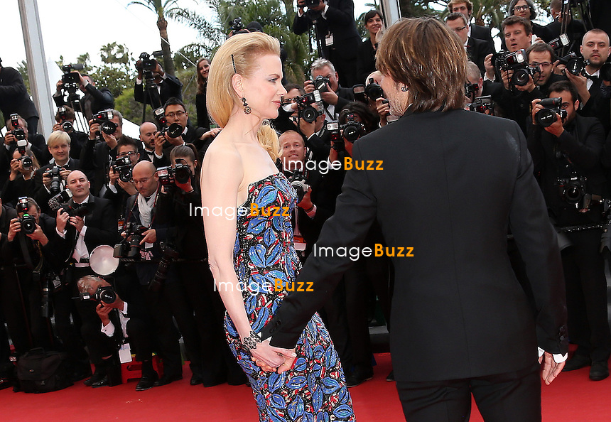CPE/Jury member Nicole Kidman and Keith Urban attend 'Inside Llewyn Davis' Premiere during the 66th Annual Cannes Film Festival at Palais des Festivals on May 19, 2013 in Cannes, France.