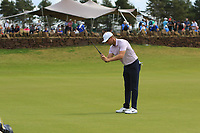 Lucas Bjerregaard (DEN) on the 3rd green during Round 1 of the Aberdeen Standard Investments Scottish Open 2019 at The Renaissance Club, North Berwick, Scotland on Thursday 11th July 2019.<br /> Picture:  Thos Caffrey / Golffile<br /> <br /> All photos usage must carry mandatory copyright credit (© Golffile | Thos Caffrey)