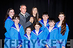 Derek O'Leary and Siobhain Bustin the leads at rehearsal  in the Killarney Musical Society's The Sound of Music with front l-r: Sarah Trant, Féile O'Sullivan, Lucy mcCarthy, Aoife O'Callaghan, Jack McCrohan, Colm O'Brien and Leana Hoffman