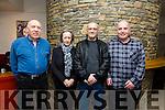 Enjoying the Eddi Reader Concert at Siamsa Tire on Sunday were family members Danny Burns, Anna Chambers, Tony Chambers and Jim Burns