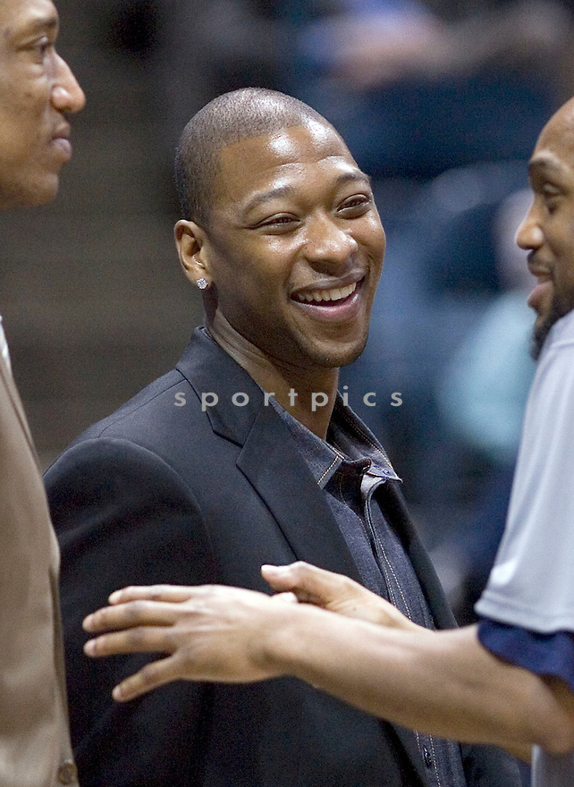 Bobby Simmons..April 07, 2010 Milwaukee, WI. Bradley Center...Milwaukee Bucks won over the New Jersey Nets 108-89.