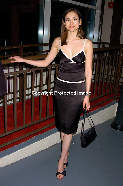 Eden Riegel ..at ABC Casino Night on October 7, 2004 at The Lighthouse..at Chelsea Piers. ..Photo by Robin Platzer, Twin Images