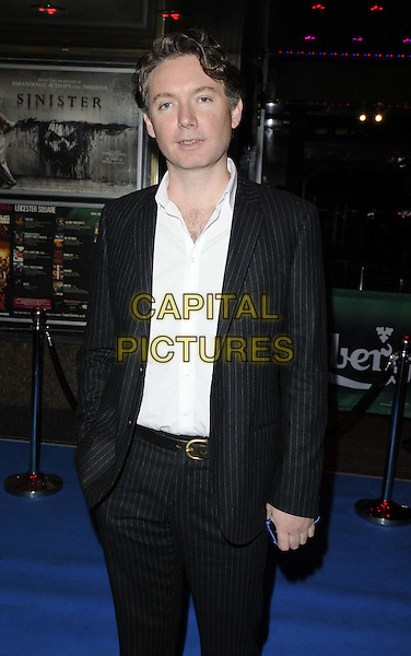 Kevin MacDonald.The Grierson 2012: British Documentary Awards, Empire cinema, Leicester Square, London, England..November 6th, 2012.half length black suit white shirt.CAP/CAN.©Can Nguyen/Capital Pictures.