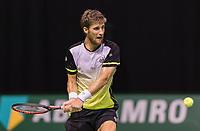 Rotterdam, Netherlands, 11 februari, 2018, Ahoy, Tennis, ABNAMROWTT, Qualifying final,  Martin Klizan (SVK)<br /> Photo: Henk Koster/tennisimages.com