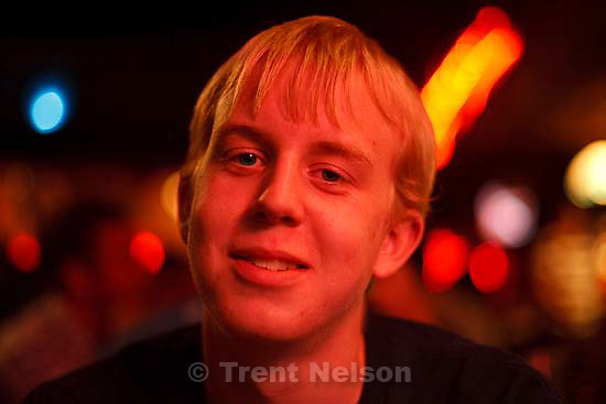 at Pie Pizzeria for Chandler's birthday party..Thursday April 30, 2009 in Salt Lake City. matt black