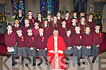 Knockaderry NS pupils who were confirmed by Fr Kieran O'Brien in St Gertrudes church Firies on Friday with their Principal Aine Daly and Fr Tadhg O'Doherty..