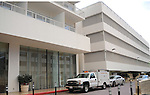 Crime Scene Lab Truck to investigate Whitney Houston's death,She passed away just prior to the the Annual Clive Davis & The Recording Company Pre-Grammy Gala held at The Beverly Hilton in Beverly Hills, California on February 11,2011                                                                               © 2012 DVS / Hollywood Press Agency