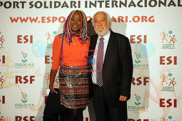 XIe Sopar Solidari d'ESI (Esport Solidari Internacional).<br /> Josep Maldonado &amp; Lucrecia.