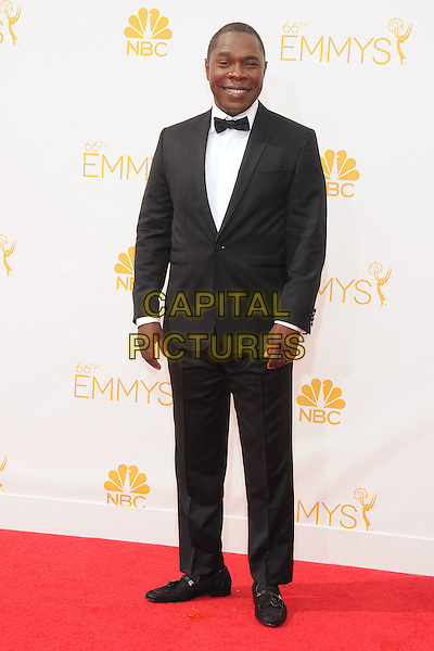 25 August 2014 - Los Angeles, California - Michael Potts. 66th Annual Primetime Emmy Awards - Arrivals held at Nokia Theatre LA Live. <br /> CAP/ADM/BP<br /> &copy;BP/ADM/Capital Pictures