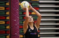 09.10.2018 Silver Ferns Aliyah Dunn during training in Townsville. Mandatory Photo Credit ©Michael Bradley.
