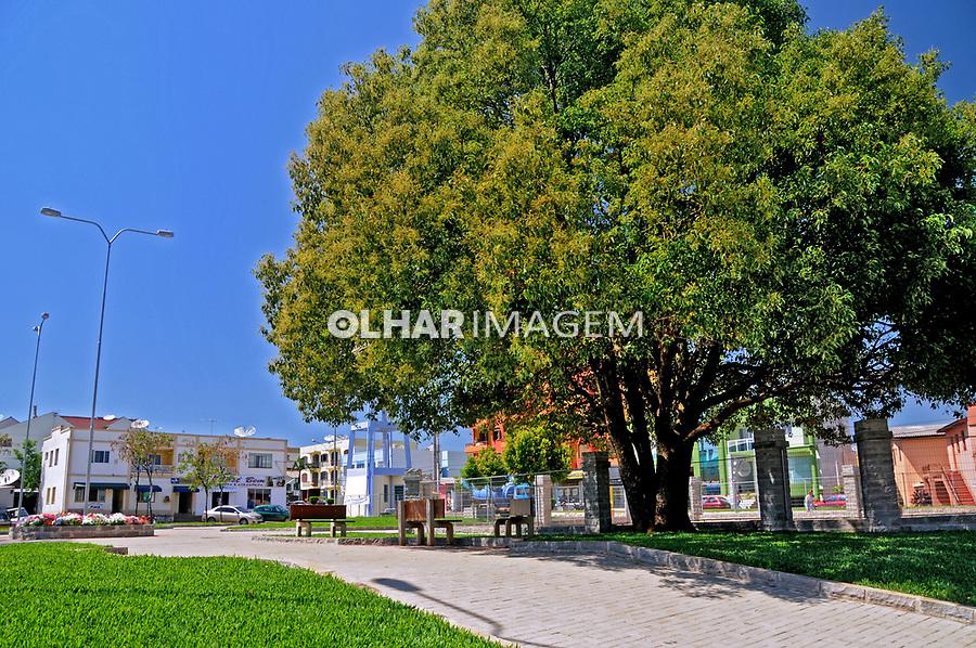 Praça na cidade de Palmitinho. Rio Grande do Sul. 2009. Foto de Zig Koch.