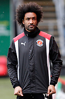 Fleetwood Town FC Sports Scientists Youl Mawene during the Sky Bet League 1 match between Charlton Athletic and Fleetwood Town at The Valley, London, England on 17 March 2018. Photo by Carlton Myrie.