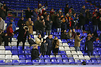 Fleetwood Town fans applaud their team at the final whistle the Sky Bet League 1 match between Oldham Athletic and Fleetwood Town at Boundary Park, Oldham, England on 26 December 2017. Photo by Juel Miah / PRiME Media Images.