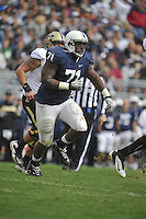 15 October 2011:  Penn State DT Devon Still (71)..The Penn State Nittany Lions defeated the Purdue Boilermakers 23-18 at Beaver Stadium in State College, PA.