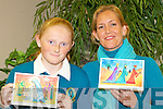 CHRISTMAS ARTIST: Artists Aine Daly and Nina Finn-Kelcey launching the Kerry Hospice Foundation 2009 Christmas Card Collection sponcered by Kerry Group at the Palliative Care Suite at Kerry General Hospital on Monday..