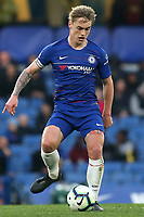 Luke McCormick of Chelsea in action during Chelsea Under-23 vs Arsenal Under-23, Premier League 2 Football at Stamford Bridge on 15th April 2019