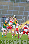 Tommy Griffin, Seamus Scanlon, Kerry v Derry, Allianz National Football League, 2nd March 2008 at Fitzgerald Stadium, Killarney.   Copyright Kerry's Eye 2008