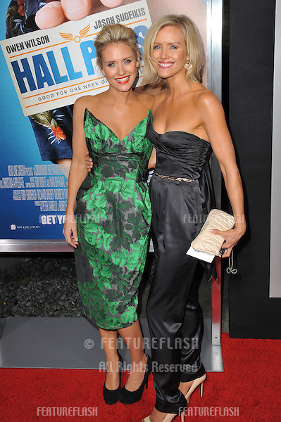 "Nicky Whelan & sister at world premiere of ""Hall Pass"" at the Cinerama Dome, Hollywood..February 23, 2011  Los Angeles, CA.Picture: Paul Smith / Featureflash"